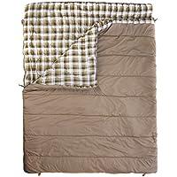 Vango Saco de Dormir Doble Accord Nuez moscada/diseño de Nuez moscada