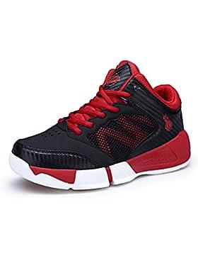 ASHION Zapatos de Baloncesto para Niños Alto para Ayudar a los Zapatos Deportivos