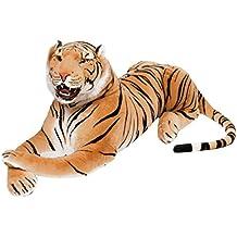 BRUBAKER gigante peluche tigre con dientes de color marrón de ...