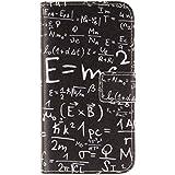 Asus Zenfone5 Funda de Piel,Cartera Cuero Flip Wallet Case Cover Carcasa Funda para el Movil Asus Zenfone 5(5'' Pulgadas) con bolsillo de tarjeta