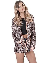 Leopard Print Rainmac Jacket