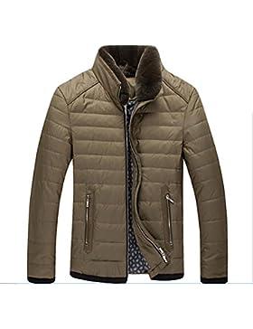 MHGAO Por la chaqueta chaqueta caliente chaquetas de invierno Nueva Ropa de Hombre , dark green , m