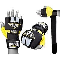 Boom Boxen Gelb/Schwarz Neopren Gel Handschuhe Handgelenkbandage Wraps MMA Boxsack Innenhandschuh (Kostenloser... preisvergleich bei billige-tabletten.eu
