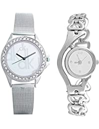 Krupa Enterprise Analogue White Dial Women'S And Girl'S Watch 4526