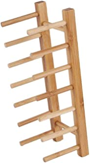 Multi-function wooden bamboo racks solid plate CD bookshelves racks Lid Organizer Rack