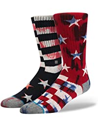 Stance Sidereal chaussettes Socks Red