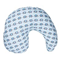 Dr. Brown's Gia Pillow Cover, Blue Elephant, BF304