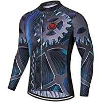 2ba8c7d7e Shenshan Sports Cycling Long jersey Men Bike clothing Spring Autumn MTB  Long Sleeve Shirts Racing Black