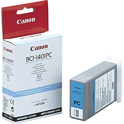 Canon 7573A001AA - Cartucho de tinta para BJ-W 7250/W 7250, 130 ml, cian