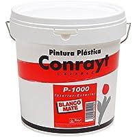 RAYT-CONRAYT P-1000 MATE - 404-28 Pintura plástica blanco mate, interior-exterior - 10 lt