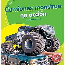 Camiones Monstruo En Acción (Monster Trucks on the Go) (Bumba Booksen Español—máquinas En Acción/ Machines That Go)