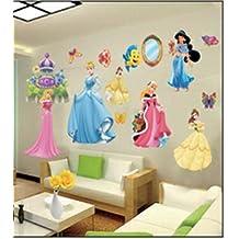 imagen pegatinas de pared de princesa pegatinas de pared de princesa de disney para nios decoracin