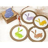 Stempel Hase Ostern Osterhase für Basteln, DIY, Geschenkverpackung Scrapbooking, handmade