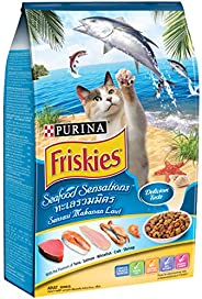 Purina Friskies Seafood Sensation Cat Food 3Kg(Pack of 1)