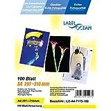 100 Blatt A4 Overheadfolie (OHP Transparentfolie Transparentpapier) für  s/w Laserdrucker und Kopierer