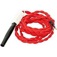 gefom 166084Cable textil longitud 2M Torsade rojo