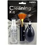 DAHSHA RiaTech Cleaning Kit for Optics Glass, Transparent Plastics Film, Laptop/LCD Display, Camera, 30ml (KCL -4045)