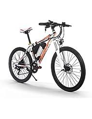 Rich Bit Vélo électrique 250W - VTT unisexe, moteur haute performance, batterie au lithium-ion, cadre en aluminium