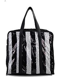 Femiga Women Top Handle Stylish Handbag-Black(HNB076-BLACK)