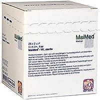 VLIESKOMPRESSEN 5x5 cm steril 6fach 50 St Kompressen preisvergleich bei billige-tabletten.eu
