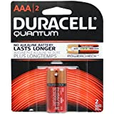 Duracell 66248 - AAA Cell Quantum Battery (2 Pack) (QU AL AAA2BCD DRLK QUANTUM AAA 2PK)