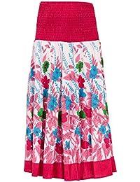Womens/Ladies Climbing Flower 2 In 1 Cotton Dress