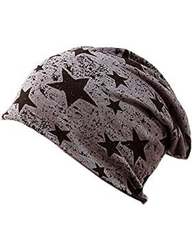 TININNA Inverno Caldo Unisex stella stampa Slouchy Cranio Cappello Beanie Hat Hiphop Berretto Baggy Cap Cappello...