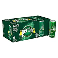 ‏‪PERRIER Sparkling Natural Mineral Water, 10 x 250 ml‬‏