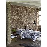 Designer Guild D68-3776003-604001-DG Kashgar Funda de edredón (satén de algodón, 260 x 240 cm), color gris