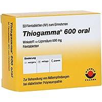THIOGAMMA 600 oral Filmtabletten 30 St preisvergleich bei billige-tabletten.eu