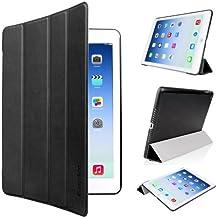EasyAcc® Ultra Slim Apple iPad Air hülle Case Smart cover mit Standfunktion / Sleep / Wake up für iPad Air / iPad 5 Tasche - Schwarz