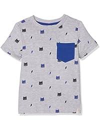ESPRIT Boy's SS AOP T-Shirt