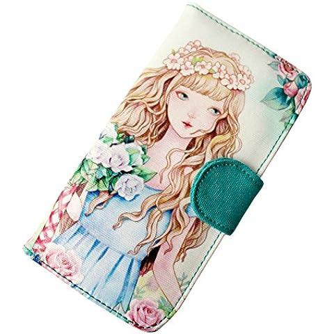 Borsa ragazza di Rose/ femminile lungo bi-fold portafogli/ pacchetto di