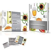 Molekül Cuisine R-Evolution Molekularküche Set und Buch Rezept einleitende Packung mit 40