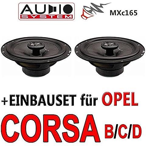 Opel Corsa B/C/D - Audio System MXc 165 - Lautsprecher Einbauset