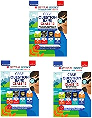 Oswaal CBSE Question Bank Class -12 ( Economics + Accountancy + Business Studies ) ( Set Of 3 Books) Chapterwi