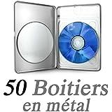 Caja DVD Metal Rectangular–compra por X 50