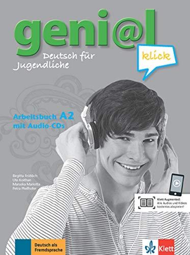 geni@l klick a2, libro de ejercicios + cd: Arbeitsbuch A2 mit 2 AudioCDs