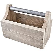 Panier Construction de meubles décoratif en bois naturel 40x 30x 25CM Design