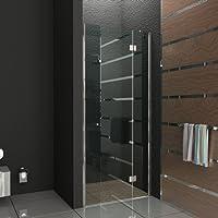 Senza telaio porta per parete divisoria doccia da parete IBath-Piatto in vero vetro 80x 200cm completo doccia porta scorrevole porta pieghevole porta girevole