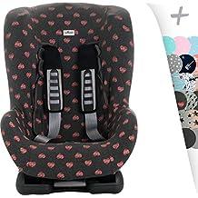f/ür 3 Punkt Gurtsystem Kinder Autostuhl Universal Schonbezug mit Kopfst/ützenbezug Gruppe 1