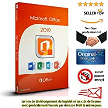 Microsoft Office 2019 Professional Plus pour 1PC (Windows) License and Download | seulement pour windows 10