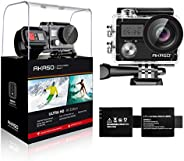 AKASO Brave4 4K WiFi Action Camera 20MP Ultra HD with EIS 30m Underwater Waterproof Camera Remote Control 5X Z