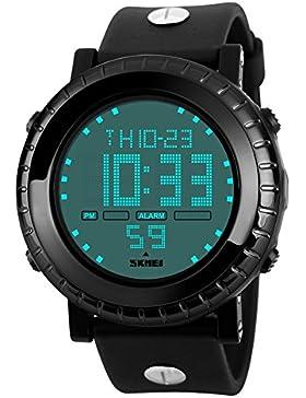 Wasserdichte digitale Uhren/Outdoor-Sport-Mode-Zifferblatt/Jungen Uhren-D