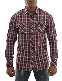 chemise kaporal bush rouge