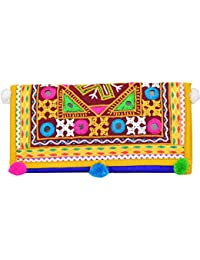 Ethnics Of Kutch AAHIR WORK Hand Embroidery Full Work Kutchhi Traditional Women's Clutch