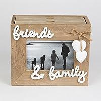 Ashley Farmhouse Shabby Chic, & Friends-Album per foto di famiglia, con 3 cassetti
