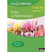 Fichier de Mathématiques 1re Bac Pro Groupement C