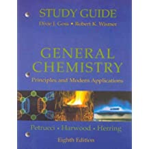 General Chemistry: Principles and Modern Applications 8 Stg edition by Petrucci, Ralph H. (2001) Paperback