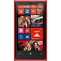 Nokia Lumia 920 Smartphone (11,4 cm (4,5 Zoll) WXGA HD IPS LCD Touchscreen, 8 Megapixel Kamera, 1,5 GHz Dual-Core-Prozessor, NFC, LTE-fähig, Windows Phone 8) gloss red